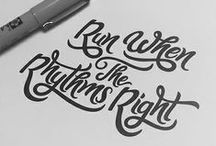 DESIGN: Lettering/Type/Font / by Emmi Hadfield