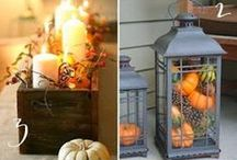 Thanksgiving Home Décor / If you're looking to spice up your home décor for the holidays, we've got you covered.