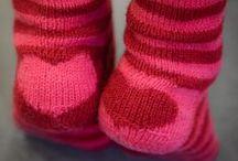 S o c k ~ K n i t t i n g ..... ♥ / Knitting socks