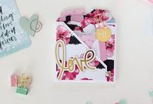 Mini Albums / Cute little mini scrapbooks to store pictures, journaling and pretty odds and ends.