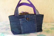 Bags~Denim Bag, etc / by G☆Love