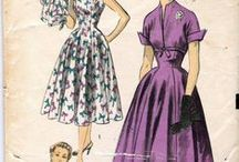 Patterns 1950's / Pattern I want to make.