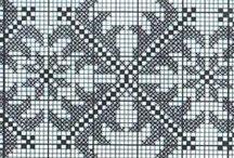 knitting charts & motifs