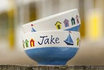 Beach Huts / This classic range has been inspired by Southwold on the Suffolk coast and its famous Victorian beach huts.