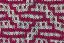 knitting stitches (mosaic)