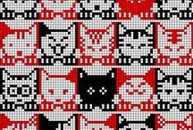 knitting charts (cats & co)