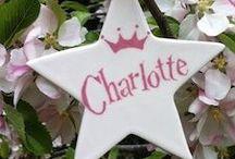 Princess Charlotte of Cambridge / Personalised Celebration Star Commemorating the birth of Princess Charlotte of Cambridge