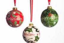 Christmas Decorations / Wonderful Christmas tree decorations, place names for your Christmas dinner or even as identifying labels on presents.