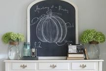 Seasonal Decor / New season? There's always an excuse to decorate your home.
