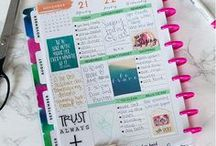 Pretty Planner Ideas and Inspiration / The Happy Planner, Bullet Journals, Erin Condren. All of the best planner ideas and inspiration on one board.