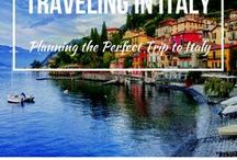 Traveling in Italy / Beautiful Places you should go to travel to Italy.