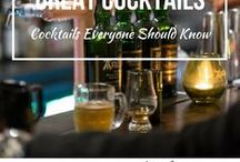 Great Cocktails / The Best Cocktails you should know during Travel and you can find them in here.