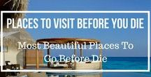 Places To Visit Before You Die / Top beautiful places you need to experience/visit before you die and you can find the things in here. #travel