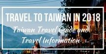 Travel to Taiwan in 2018