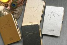 Sternzeichen Notizbücher / Damit man nichts mehr vergisst. Der perfekte Wegbegleiter um wichtige Informationen festzuhalten