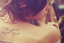 Tattoos / by JK. K