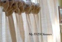Burlap Curtains / by Jennifer Wright