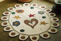 Wool Penny Rugs / by Jennifer Wright