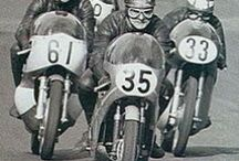 Vintage Racing Motorcycles / Gran Prix to Motocross - back in the day / by Tom Dudones