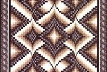 Bargello Quilts / by Jennifer Wright