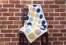 Decken / Babydecken, gehäkelte Decken