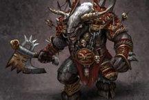 Warhammer Beastmen