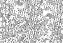 Motifs // Patterns / Inspirations autour de motifs