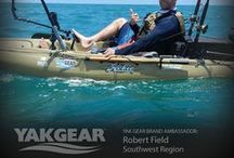Yak Gear Brand Ambassadors / Yak Gear Brand Ambassadors represent the #kayakfishing brand that we all love in all aspects of life!  Follow their adventures all over the world as they use their kayak fishing accessories to catch bigger fish, paddle farther, and explore more!