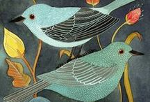 BIRDS,  OWIS - Decor beautiful