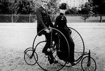 VINTAGE  Bicycle Photo beautiful