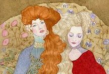 Masha Kurbatova - Watercolor Painting. / Masha Kurbatova. Иллюстрации Марии Курбатовой, Россия.
