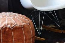 Cuero en casa / Muebles e ideas que encontramos por ahí para llenar tu casa de cuero ¿hay algo más agradable? www.puntera.com