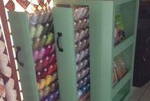 Best Sewing Thread Racks / by Jennifer Wright