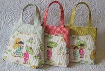 Quilted Bags / by Jennifer Wright