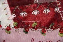 Joyful Embellishments - January - Feather Stitch / by Jennifer Wright