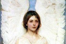 ANGEL beautiful / И не вернуть, то мгновенье обратно, Я лишь запомнил ангела лик......    Если прислушаться к музыке сердца, И на мгновенье забыть о делах, Ты, приоткрыв бесконечности дверцу, Ангела света узришь в небесах.