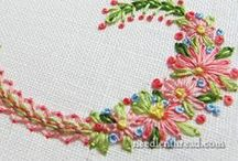 Monograms for Hand Embroidery / by Jennifer Wright
