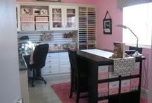 Sewing Room Storage Solutions / by Jennifer Wright