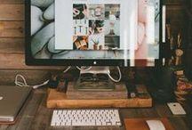 Inspirational Workspaces | Kreative Arbeitsplätze - Tiny Workspaces - DIY - Office - Desk - Work - Househacks - Ikeahacks / Klein aber trotzdem schön - hier eine kleine Auswahl an kreativen Arbeitsplätzen.    #tiny #workspaces #ikea #DIY #Design #Office #Desk #Work
