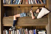 Locus amoenus / Mensole, libri, scaffali, libri, librerie, ...