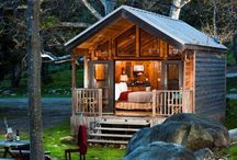 wood / houses / cabin / living examples / some examples for individual houses!