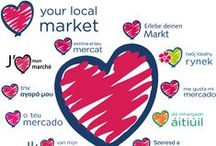 #LYLM2016 Love Your Local Market Campaign 2016 / This board showcases markets taking part in the national & international campaign Love Your Local Market 2016 #LYLM2016