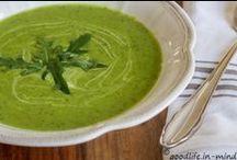 Vegetarisches / Salate, Gemüse pur oder als Beilage, Suppen, Aufstriche