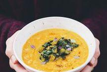 Soupes // Soup / Recettes de soupes chaudes ou froides, pour l'hiver comme pour l'été