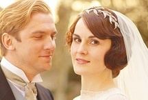 Downton Abbey <3 / Matthew Crawley + Lady Mary = <3 Tom Branson + Lady Sybil = <3 Lord Grantham (Robert Crawley) + Lady Grantham (Cora Crawley) = <3 Mr. Bates + Anna Smith = <3 / by Clara Grismer
