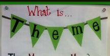 Finding Theme / Ideas, Activities, and Freebies for Teaching Theme in Fourth Grade and Fifth Grade RL.4.2, RL.5.2