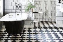 Interior decorating - bathrooms