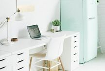 Fab! Office / Love to work at home! #office #homeoffice #supplies #workingmom