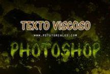 Efectos de texto - PS Tutoriales / Tutoriales de diversos efectos de texto con Photoshop - http://pstutoriales.com/category/efectos/efectos-de-texto/