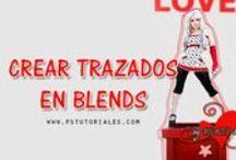 Blends - PS Tutoriales / Tutoriales de diferentes tipos de blends con Photoshop - http://pstutoriales.com/category/blends/tutoriales-de-blends/
